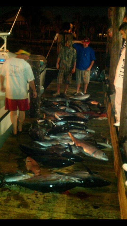 Offshore Fishing | Deep Sea Fishing Charters | Tuna Fishing Charters | Grand Isle Fishing Charters - Pure Adrenalin Fishing Charters
