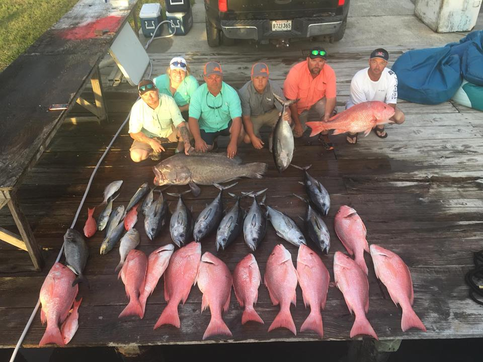 Offshore Fishing Charters in Grand Isle, Louisiana
